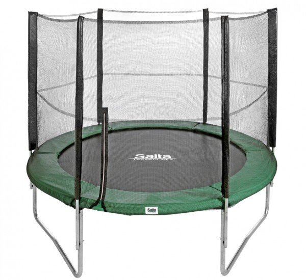 Salta Trampolin 1,83 m, grün Combo mit Fangnetz bis 100 kg belastbar