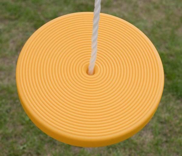Fungoo Disc Seat, Tellerschaukel für Anbauschaukel, Doppelschaukel oder Einzelschaukel.