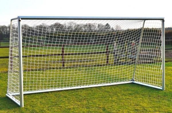 Aluminium Fußballtor mit Netz 4m x 2m für den Garten, Outdoor Tor