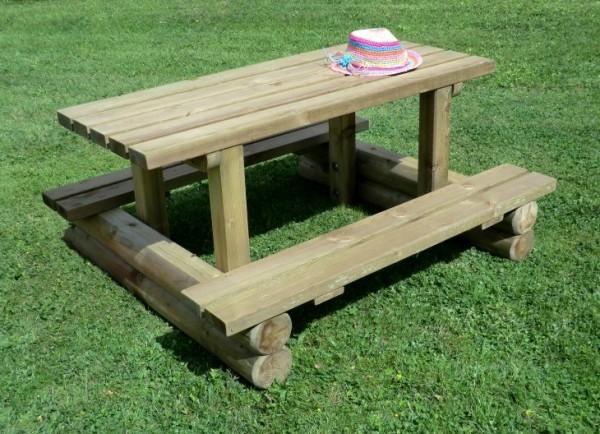 Garten Kindersitzgruppe aus Holz