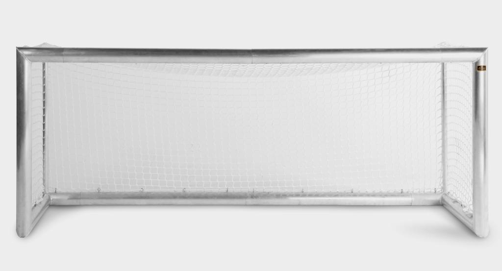 aluminium fu balltor mit netz 2 5m x 1m outdoor spielfuchs online shop f r spielzeug und. Black Bedroom Furniture Sets. Home Design Ideas