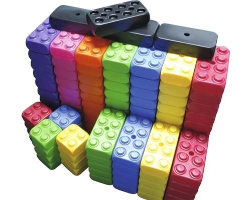 ESDA 106 Stück XXL Fun-Blocks Jumbo Set Spielbausteine