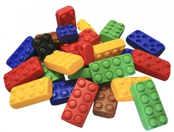 26 Stück XXL Fun Blocks Spielbausteine, Jumbo Bausteine, Bausteine