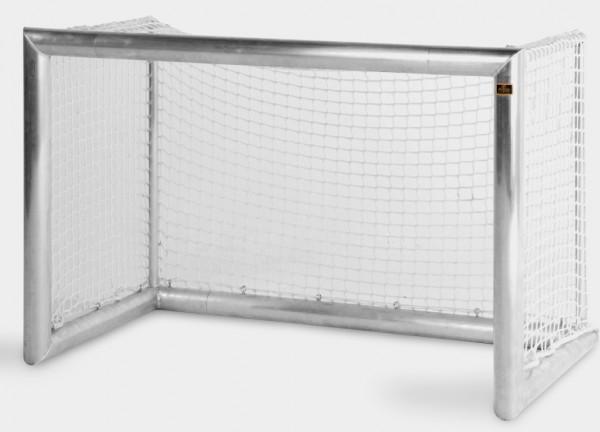 Aluminium Fußballtor mit Netz 1,5m x 1m