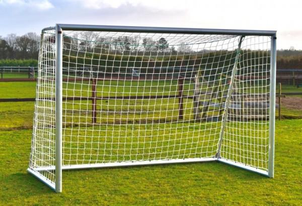 Aluminium Fußballtor 3m x 2m mit Netz für Garten, Outdoor
