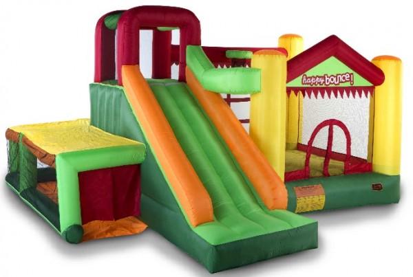 Avyna Hüpfburg Springburg Fun Palace Big mit Gebläse 4,50 x 4,00 m