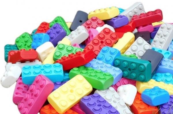53 Stück XXL Fun Blocks Spielbausteine, Jumbo Bausteine, Bausteine