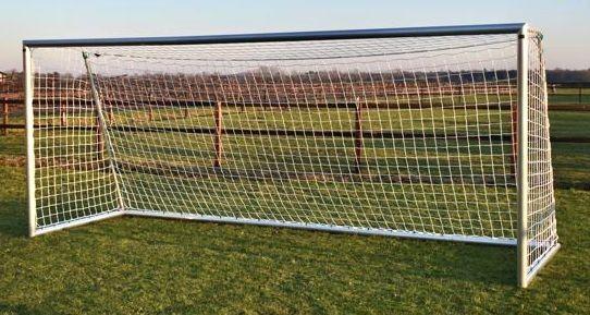 Aluminium Fußballtor mit Netz 5m x 2m für Outdoor