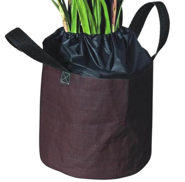 Frostschutzsack Ø 40x35 cm für Wurzelballen Blumentopf, Frostschutz, Winterschutz für Pflanzen