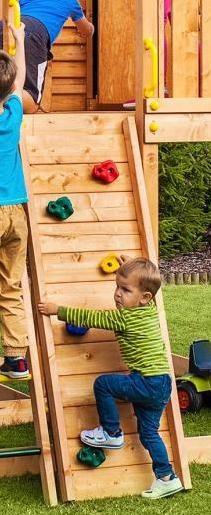 Fungoo Module Step On, Anbau Kletterwand für Spielturm