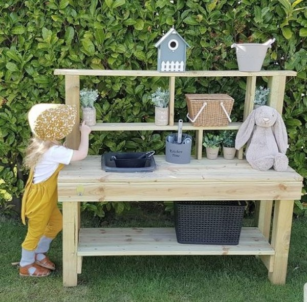 Kinderküche Outdoor, Matschküche, Spielküche