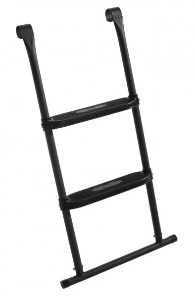 Salta Leiter für Trampolin für Größen 2,44m, 2,51m 3,05m. Trampoline Leiter mit 2 Trittstufen - 82x52cm - Leiter zu verwenden für folgende Artikel: Ø 244cm -  Ø 251cm - Ø 305cm