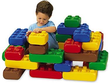 XXL Fun-Blocks Starter Set Spielbausteine, Spielsteine, Jumbo Riesen Bausteine