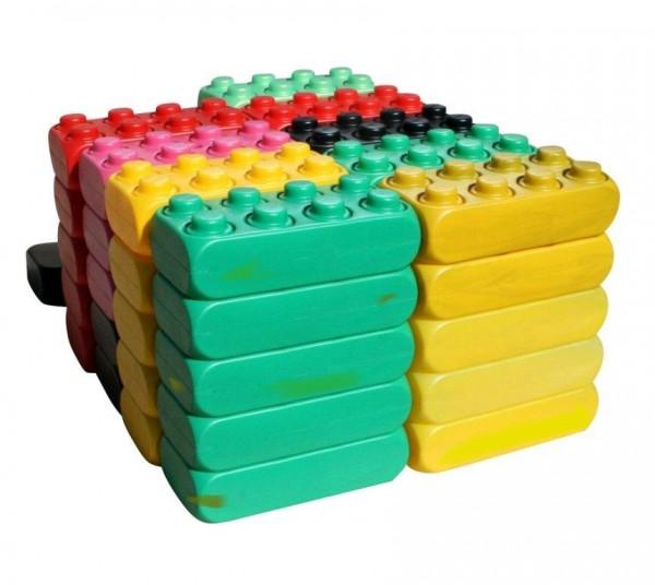 2. Wahl - 26 Stück XXL Fun-Blocks Starter Set, Spielbausteine, Bausteine von ESDA