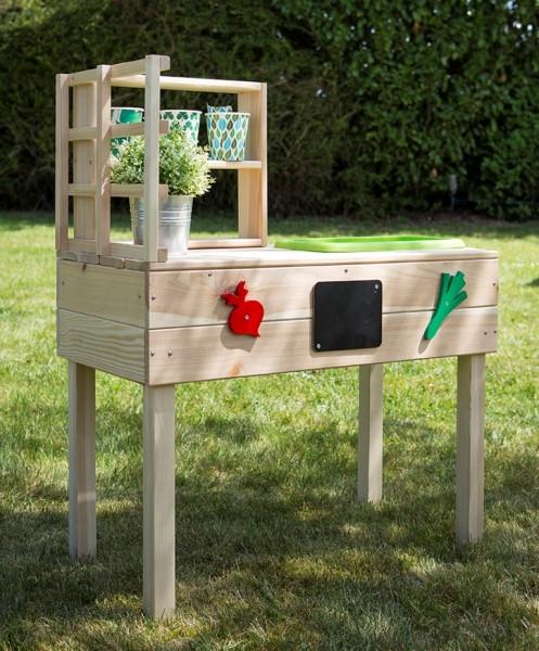 Kinder Gartentisch